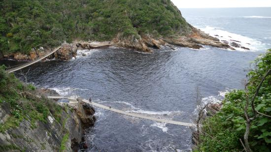 Storms River, แอฟริกาใต้: Stormsrivermouth