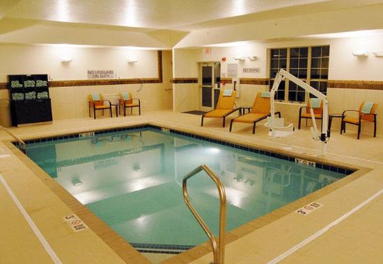 Indoor Pool Picture Of Courtyard Columbus New Albany