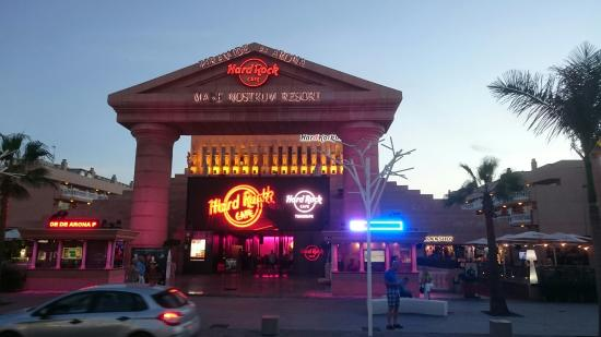 Hard Rock Cafe Tenerife Picture Of Hard Rock Cafe