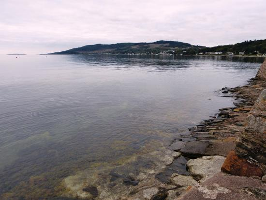 Tighnabruaich, UK: View from window