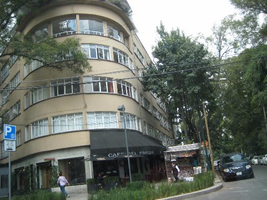 Typical Apartment Building In Colonia Polanco Picture Of