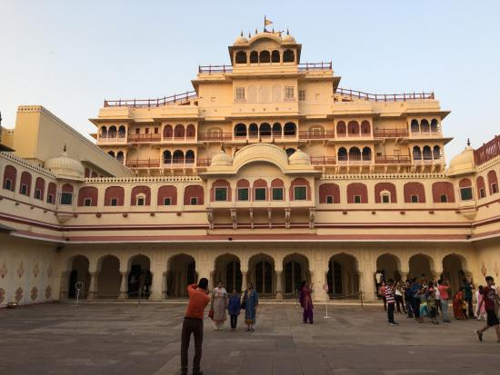 Maharadja Palace In Jaipur  Picture Of Oasis Travel India Private Day Tour