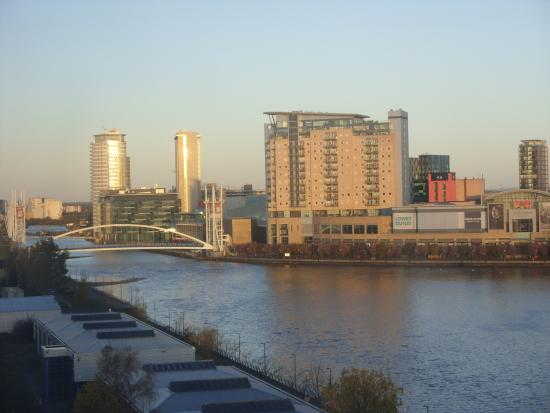 View From Room 1001 Picture Of Premier Inn Manchester
