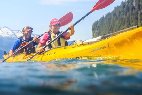 Seward, AK: Kayaking is fun for all ages!