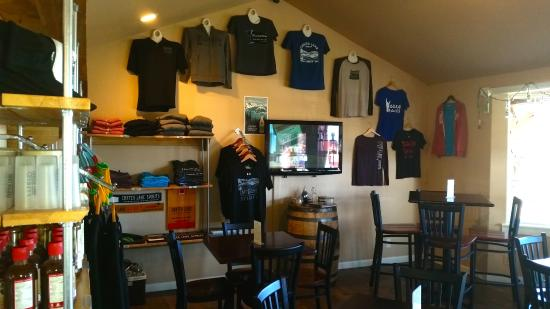 Bend, OR: Merchandise in the store