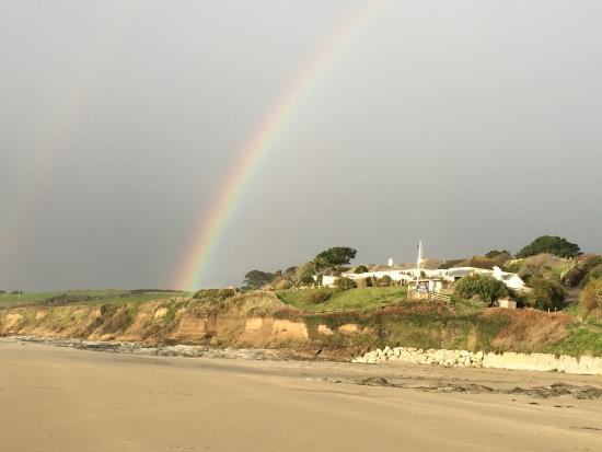 Veryan, UK: The Nare - a pot of gold at the end of a rainbow!