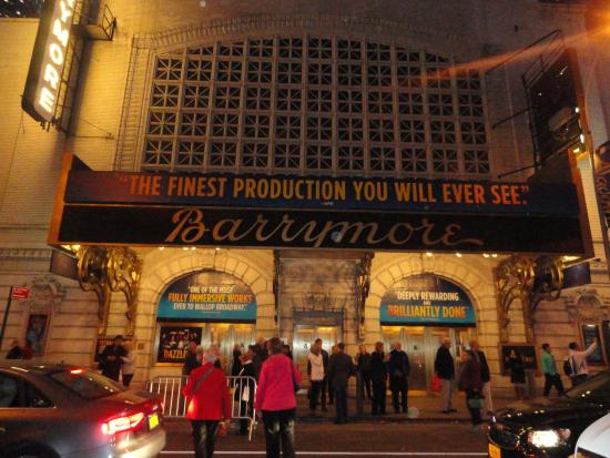 Barrymore picture of inside broadway tours new york for 111 broadway 2nd floor