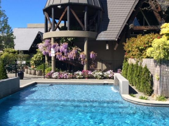 Swimming Pool Picture Of Chateau On The Park Hotel Christchurch Tripadvisor