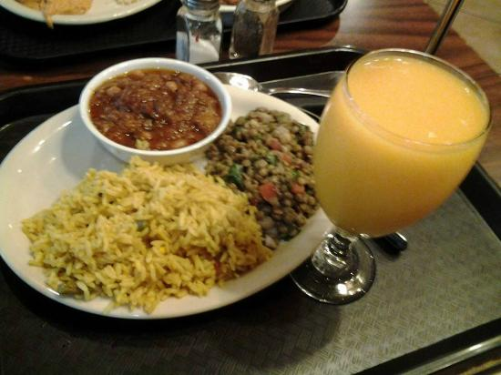 Fresh mango juice is so good goes great with the spices for Aladdin mediterranean cuisine westheimer road houston tx