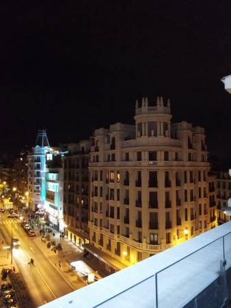 Gorgeous view from room 604 picture of exe central - Exe central madrid ...