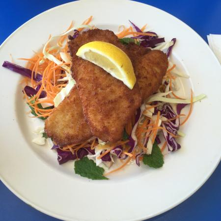 Tullamarine, Australia: Vietnamese salad with fish