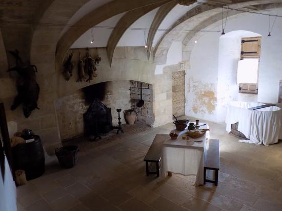 Int rieur picture of chateau de castelnaud castelnaud for Interieur chateau