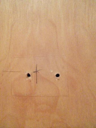 Franklin, Огайо: and more holes in door