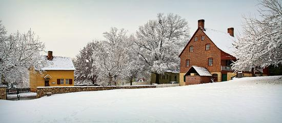 North Carolina: Winter is the perfect time to take a walk back in time through charming Old Salem.