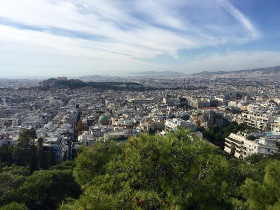 Above Athens - Picture of Mt. Lycabettus (Likavitos ...