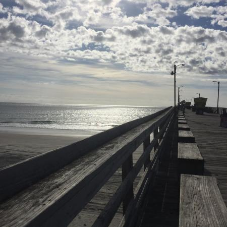 Picture of bogue inlet fishing pier emerald for Fishing report emerald isle nc
