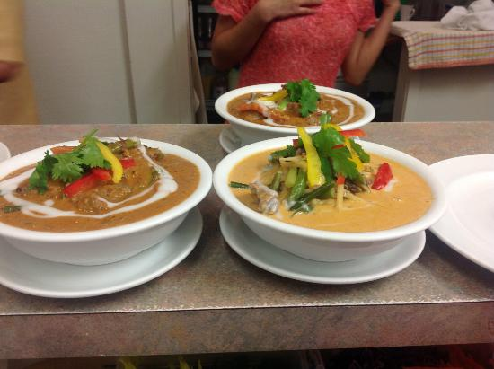 Curry picture of lai thai restaurant auckland tripadvisor for Auckland thai boutique cuisine