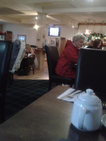 Paisley, UK: Plenty of space between the tables