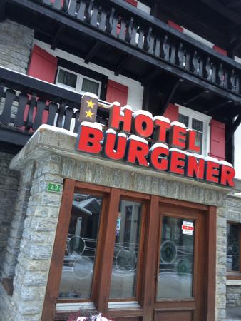 Photo of Hotel Burgener Saas-Fee