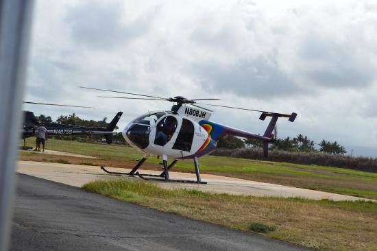 Helicopter  Picture Of Jack Harter Helicopters  Tours Lihue  TripAdvisor