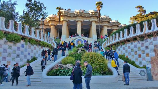 Gaudi Park Guell - Picture of Barcelona Day Tours ...