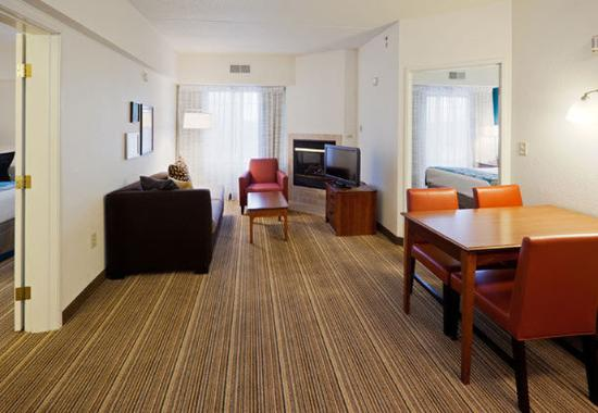 two bedroom suite picture of residence inn chicago oak brook oak