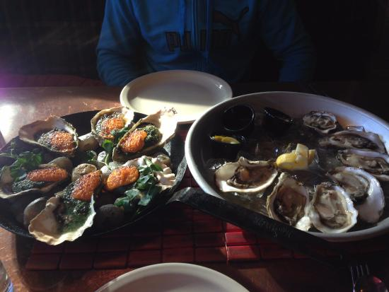 Netarts, OR: Oysters and more oysters