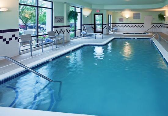 Indoor Pool Spa Picture Of Springhill Suites Lansing