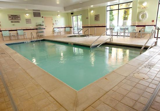 Indoor Pool Picture Of Springhill Suites Lexington Near The University Of Kentucky Lexington