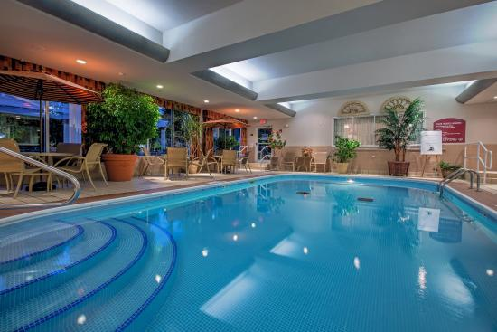 Rejuvenate By Our Indoor Swimming Pool Picture Of Holiday Inn Express Youngstown North Warren