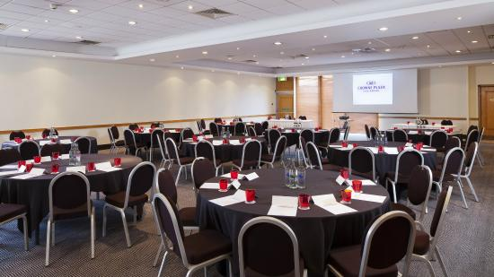 Meeting Room Set Up In Cabaret Style Picture Of Crowne