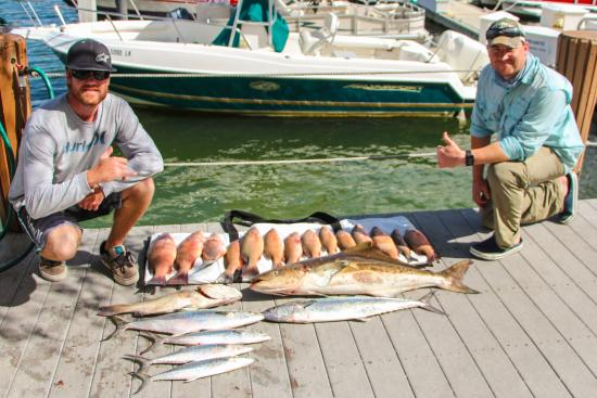 Unreel fishing picture of unreel fishing charters marco for Charter fishing marco island