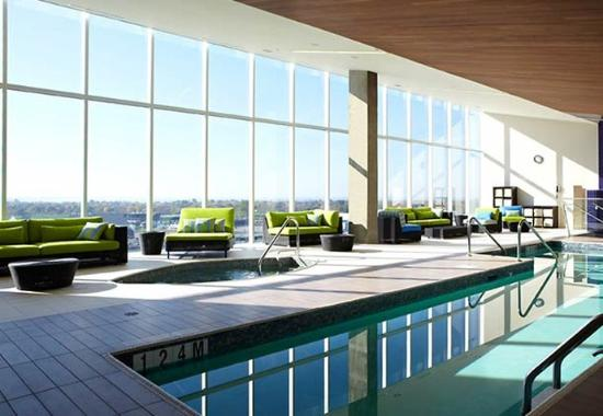Indoor Pool Picture Of Montreal Airport Marriott In Terminal Hotel Dorval Tripadvisor