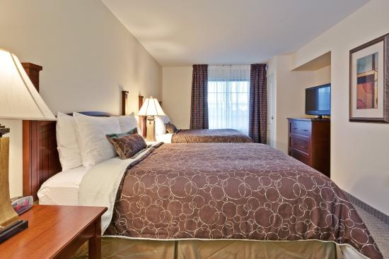 One Bedroom Suite With Two Queen Beds Picture Of Staybridge Suites Indianapolis Carmel