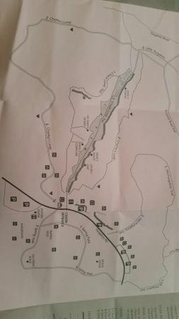 Sutton, MA: Map of trails