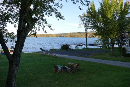 Barry's Bay, Canada: View at the lake