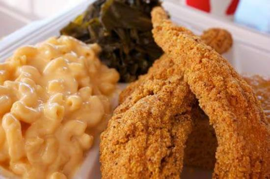 Fish mac cheese greens picture of southern grubbin for Mac s fish and chips