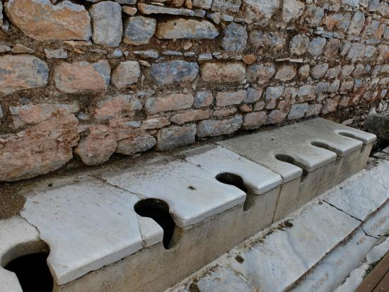 Old public toilet - Picture of Public Latrine, Selcuk ...