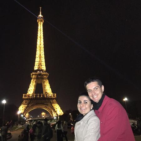 Torre Eiffel Noturno Picture Of Eiffel Tower Paris TripAdvisor