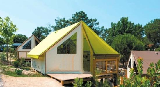 Allées du camping  Picture of Camping Le Bois Joly, Saint  ~ Camping Le Bois Joly Saint Jean De Monts