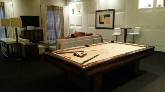 The Pool Table Picture Of Hyatt Regency Chicago Chicago Tripadvisor