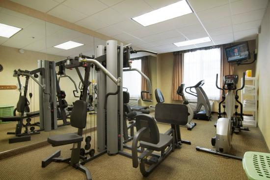 Fitness room picture of best western plus river escape