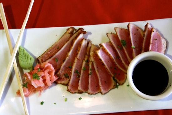 Saddleback Inn: Ahi Sashimi