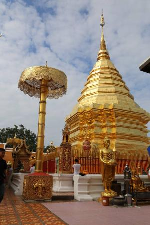 Temple - Picture of Wat Phra That Doi Kham (Temple of the ...