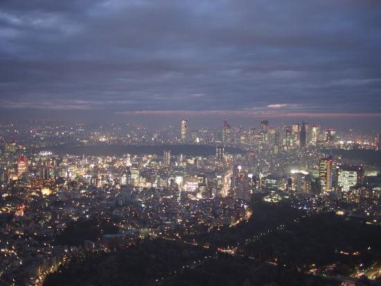 View from sky deck - Picture of Tokyo City View Observation Deck (Roppongihil...