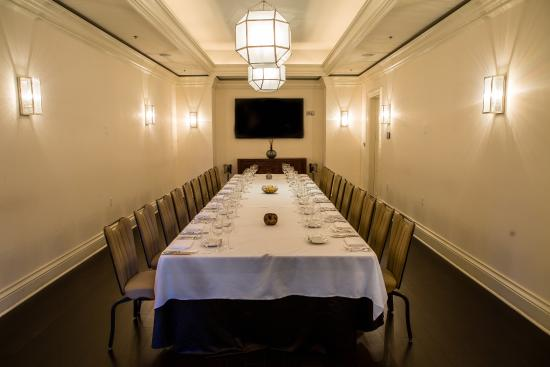 Private dining room picture of norman 39 s orlando for Best private dining rooms orlando