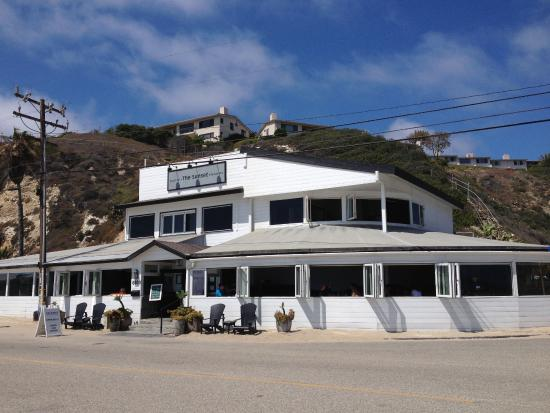 Ext rieur picture of the sunset restaurant malibu for Exterieur restaurant