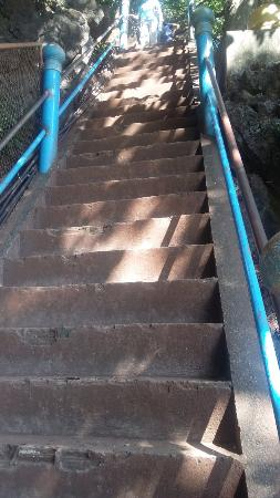 Climb steps in beginning - Picture of Tiger Cave Temple ...