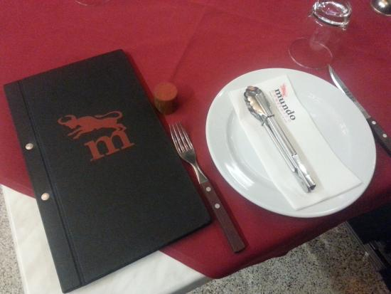 Plate and cutlery picture of mundo churrasco brisbane for 63 macgregor terrace bardon