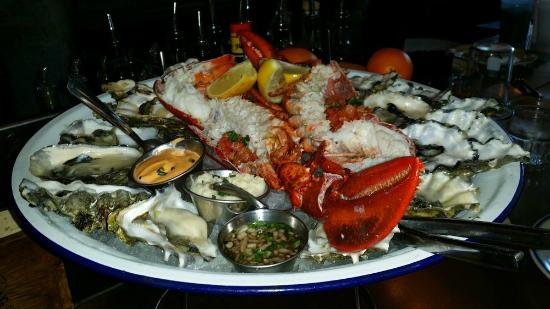 Happy hour 2 dozen oysters and 1 lb of lobster picture for Ironside fish and oyster san diego